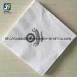 Guardanapo de tabela de papel impresso feito sob encomenda do jantar da marca que faz o preço da máquina