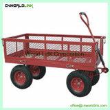 300kgs, das antikes Karren-Grün-Garten-Lastwagen-Fertigungsmittel faltet
