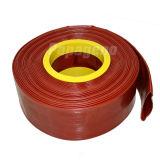 Mangueira resistente flexível do PVC Layflat