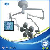 Krankenhaus LED, das Shadowless Lampe mit Cer betreibt (YD02-LED5+5)