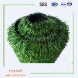 緑の総合的な泥炭、人工的な草、擬似草高密度との40mm