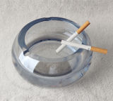 New Design Office Decor Round Crystal Ashtray