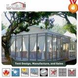 De Tent van de Markttent van het huwelijk met de Muur van het Glas voor Openlucht voor Verkoop