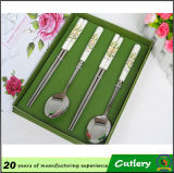 Handle di ceramica Spoon/Knife e Forks Cutlery Set per Promotion