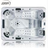 Baignoire d'acrylique de luxe SPA de bain chaud pour fête et santé