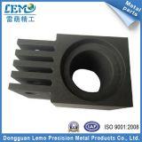 Parti di giro personalizzate di CNC dell'alluminio anodizzate il nero di precisione