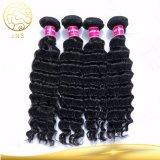 7A unverarbeitete Haar-Jungfrau-europäisches menschliches Klipp-Haar des Grad-100%