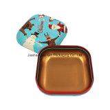 Большая квадратная коробка подарка олова печенья металла (S001-V6)