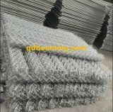 Clôture épaisse de maille de chaîne de pente de qualité