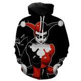 3D 인쇄 긴 소매 Hoody 스웨터는 비용 재킷 Appearl를 입는다