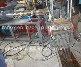 Doppeltes Schrauben-Strangpresßling PET Körnchen bereiten Maschine für 200kg/H auf