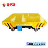 Industrie des métaux chariot rail motorisé alimenté par le tambour de câble (KPT-20T)