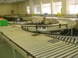 Transportador de rolos de gravidade no sistema de transporte
