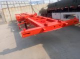 Skelett-halb Schlussteil der China-2 Wellen-20FT 40FT für Verkauf