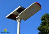 Zonne Geladen 50W LEIDENE Lamp het Post Decoratieve Licht van de Werf (snf-250)