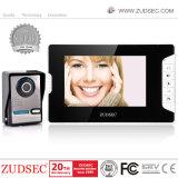 Caméra extérieure étanche avec écran LCD couleur TFT 7 pouces de la vidéo pour la maison de la sécurité de téléphone de porte