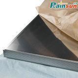 Un6061 O/T4/T6 plaque en aluminium