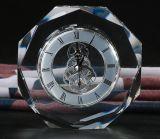 La Chine usine Pujiang K9 Crystal Tableau Horloge Horloge en cristal de bureau
