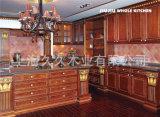 Vermelho sólido de carvalho americano armário de cozinha de carvalho vermelho - 4