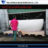 Blanco curvo pasillo de la oficina Recepción Pedido Shop Ronda mostrador de recepción