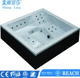 De V.S. Acryl Rechthoekige Bathtubs Portable Massage SPA (m-3385)