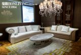 본래 이탈리아 작풍 현대 호화스러운 거실 가죽 소파 세트