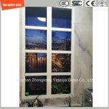 L'impression de Silkscreen de peinture de la qualité 3-19mm Digitals/gravure à l'eau forte acide/se sont givrés/plat de configuration/ont déplié les verres de sûreté Tempered pour le mur/étage/partition avec SGCC/Ce&CCC&ISO