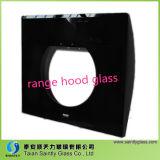 6mm Negro Impresión de vidrio templado de Campana