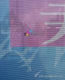 Autoadesivo unidirezionale del vinile di visione del vinile dell'autoadesivo perforato su ordinazione della finestra