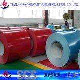 Bobina d'acciaio ricoperta colore laminata a freddo di PPGI nelle azione d'acciaio della bobina