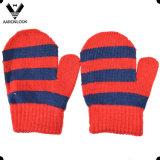 Акриловая связанная нашивка ягнится перчатка Mitten большого пальца руки младенца