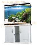Аквариум дуги стеклянный для украшения дома и офиса
