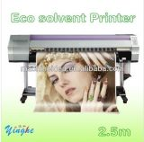 Большой формат экологически чистых растворителей и плоттер принтер для печати для установки вне помещений