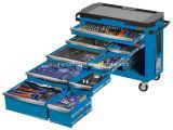 Горячая продажа - 9 выдвижной ящик инструмент тележка 485 частей - синего цвета с электроприводом