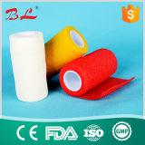 Het chirurgische Kleurrijke Zelfklevende Elastische Verband van Fflexible van de Sport van het Verband