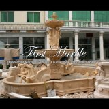 Grande fontaine d'or de désert pour la décoration à la maison Mf-1005