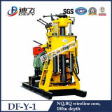 Df Y 1 휴대용 판매를 위한 광업에 의하여 사용되는 바위 코어 드릴링 기계