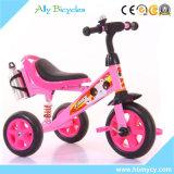 3 إطار العجلة 1 إطار 2 دوّاسة درّاجة ثلاثية مصنع إنتاج لون قرنفل درّاجة ثلاثية