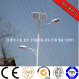 Rue Solar Light Liste Prix, Vente White Hot Pole 8m 50W Outdoor LED solaires Street Lights
