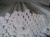 100% de barras de PTFE virgens, barra de PTFE com cor branca e preta