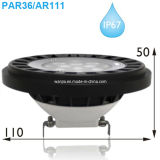Bluetooth RGBW IP67 impermeabilizza il riflettore AR111/PAR36 del LED Landscpe