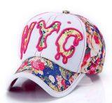Berretto da baseball su ordinazione del denim di Nyc 3D Embroideried di marchio in vari formato, disegno e materiale