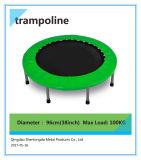 子供のためのハンドルが付いている36インチの小型円形の屋内トランポリン