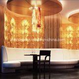 Panel de pared 3D por mayor ligero de insonorización para el Club de fondo decorativo