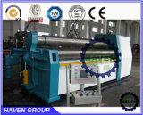 Do rolo W12S-25X3000 4 máquina da placa da dobra de aço e de rolamento