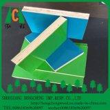 Blanco Azul Verde, ante el uso de madera contrachapada de Construcion de plástico
