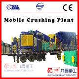 中国の石を押しつぶすための移動式円錐形の粉砕機のプラント