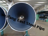 Tubulação de aço inoxidável soldada espiral do API 3PE Fbe