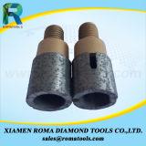 Herramientas que muelen de Romatools Diamong de los dígitos binarios del dedo para la perforación y losas que muelen en la máquina del CNC
