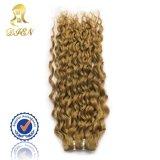 깊은 Wave 브라운 Color Human Hair Weave Virgin Remy Natural Hair Products 7A Grade